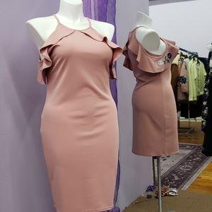 Bluebell form fitting midi dress